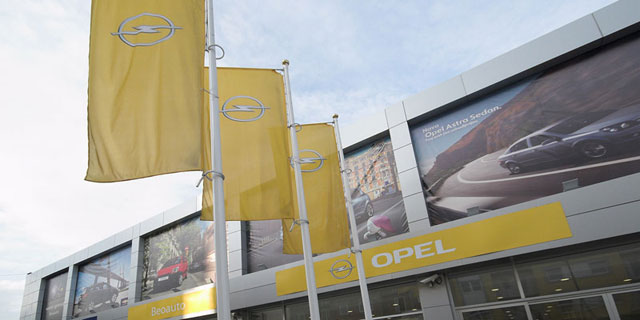 Opel - prodajni salon